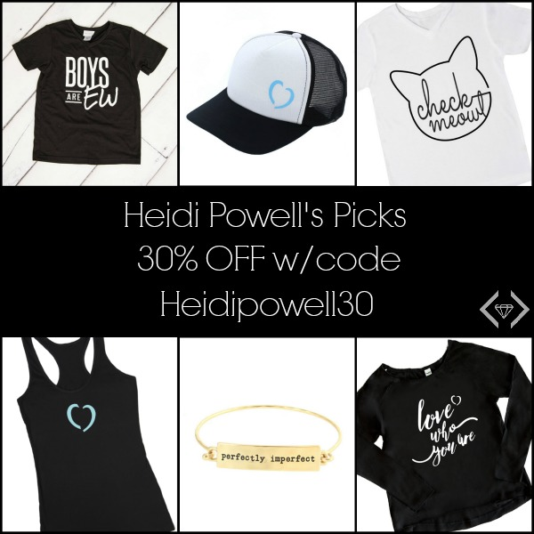 30% off Heidi Powell Cents of Style Picks