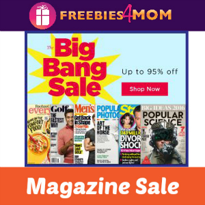 Big Bang Magazine Sale