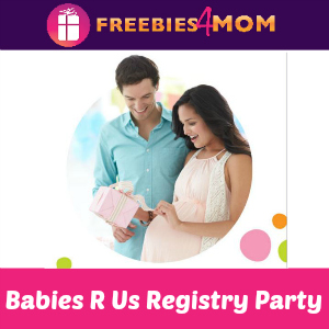 Free Registry Party at Babies R Us Saturday