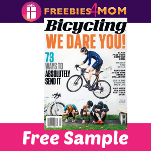 Free Bicycling Magazine (10 issues, $15 value)