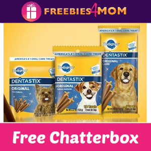 Free Chatterbox: Pedigree Dentastix