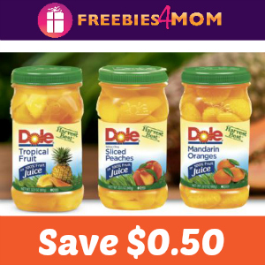 Coupon: Save $0.50 on one Dole Jarred Fruit