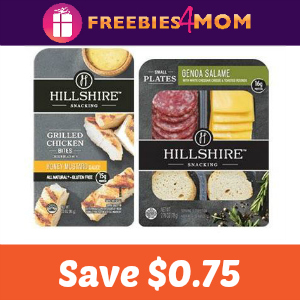Save on Hillshire Small Plates or Chicken Bites