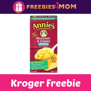 Free Annie's Mac & Cheese at Kroger