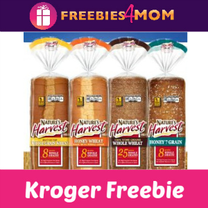 Free Nature's Harvest Sandwich Bread at Kroger