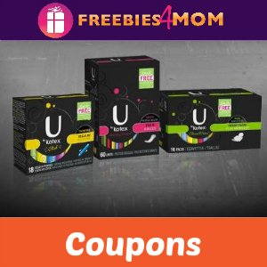 Coupons: Save on U by Kotex