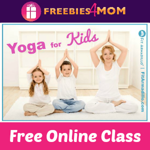Free Online Yoga For Kids Class ($7 Value)