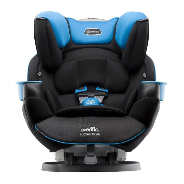 Evenflo Platinum SafeMax All-In-One Car Seat rollover-tested car seat