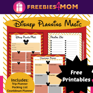 Free Printable Disney Planning Kit
