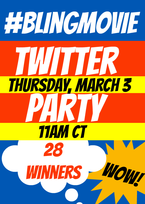 #BlingMovie Twitter Party
