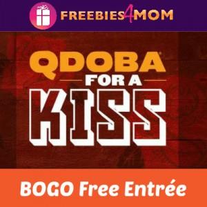 Qdoba BOGO Free Entrée February 14