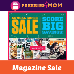 Magazine Annual Super Sale