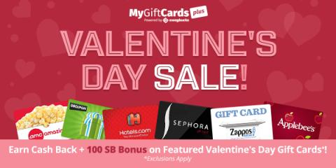 Cash Back from Swagbucks for Valentine's Day