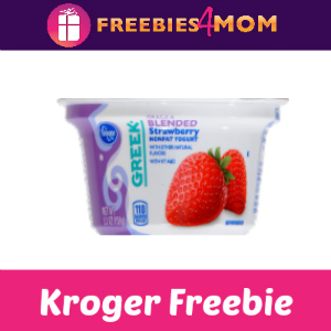 Free Kroger Greek Yogurt