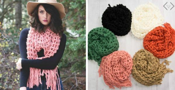 50% Off Knit Scarves (Starting Under $5)