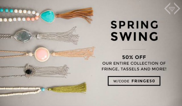 50% Off Fringe, Tassels & More