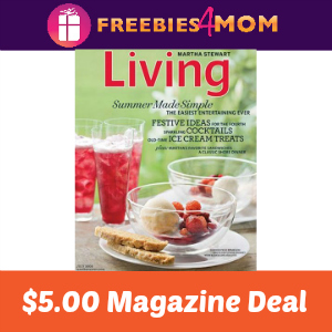 Magazine Deal: Martha Stewart Living $5.00