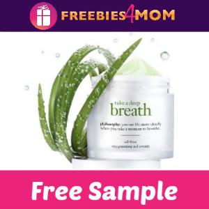 Free Sample Philosophy Oxygenating Gel Cream