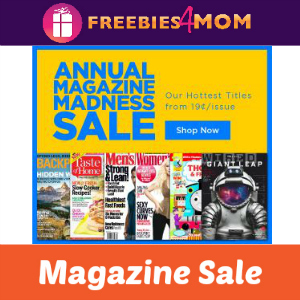 Magazine Madness (Over 200 to Choose From)