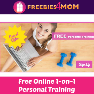 Free 1-on-1 Online Personal Training ($59 Value)