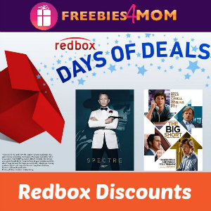 Redbox Days of Deals (thru 10/16)