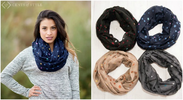 50% Off Patterned Season Transition Scarves