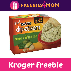 Free Tostitos Dip-etizers at Kroger