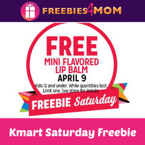 Free Mini Flavored Lip Balm at Kmart 4/9