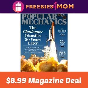 Magazine Deal: Popular Mechanics $8.99
