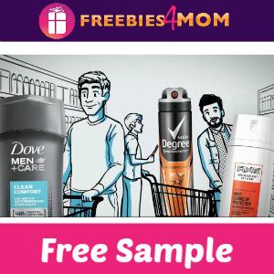 Free Sample Dove Men+ Care & Axe
