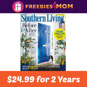 Southern Living Magazine 2 Years for $24.99