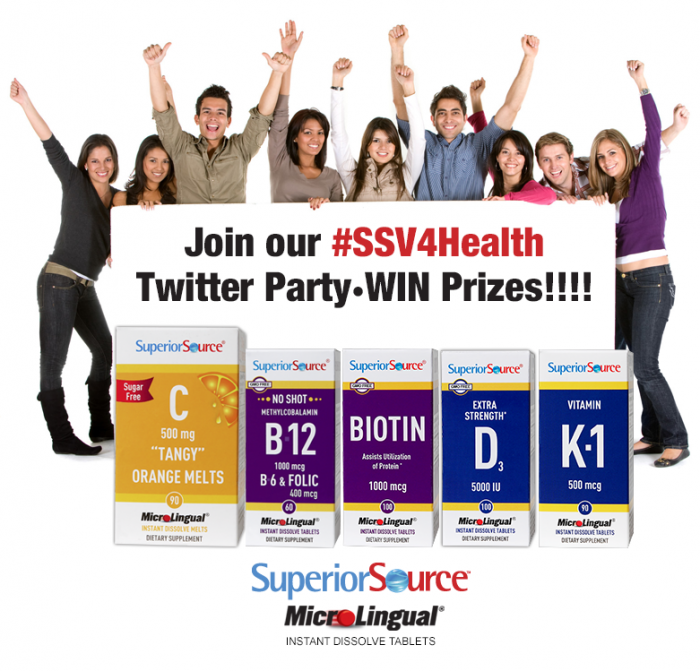 $875 in Prizes at #SSV4Health Twitter Party 4/26 8pm CT