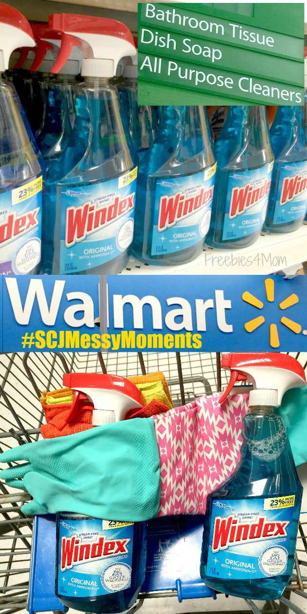 Spring Cleaning with Windex® from Walmart
