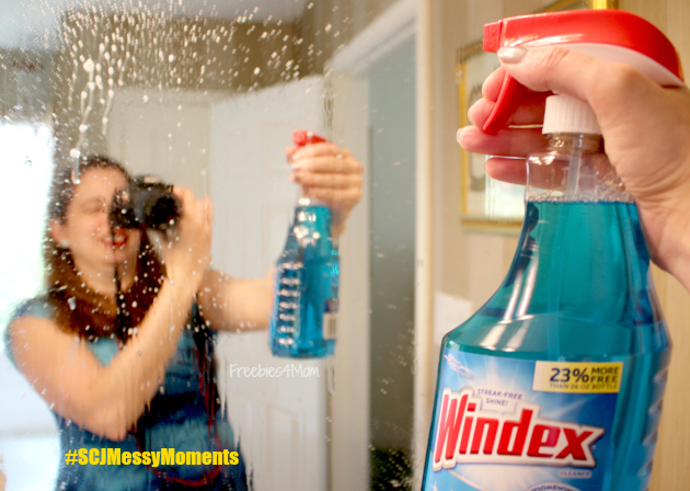 Spring Cleaning Bathroom Mirrors with Windex® Brand from Walmart