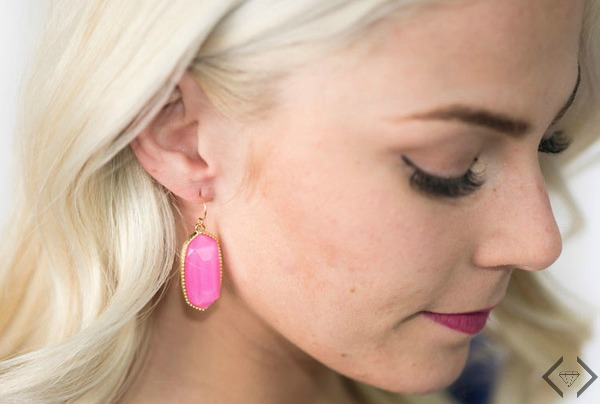 Oval Dangle Earrings $7.95 (Buy 2, Get 1 Free)