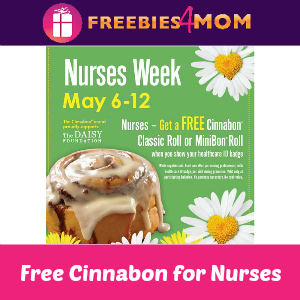 Free Cinnabon for Nurses Week