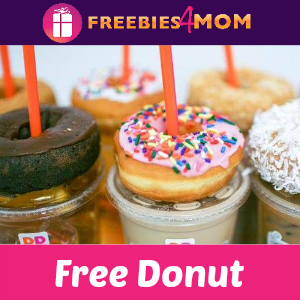 Free Donut at Dunkin' Donuts June 2
