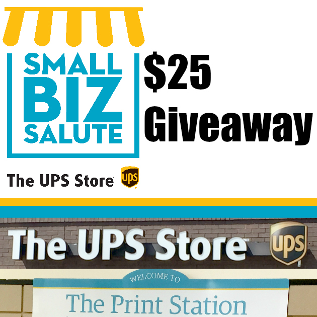 $25 The UPS Store Giveaway Winner