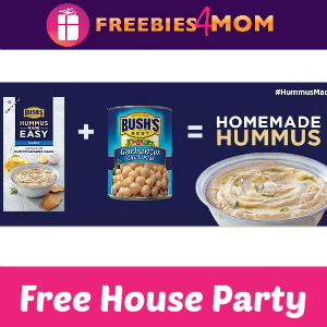 Free House Party: Bush's Hummus Made Easy