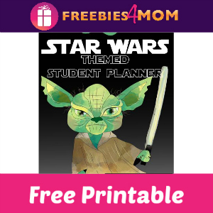 Free Star Wars Student Planner ($9.99 Value)