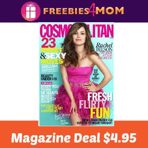 Magazine Deal: Cosmopolitan $4.95