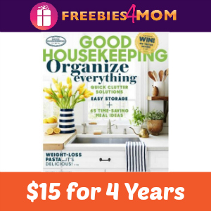 4 Years of Good Housekeeping for $15