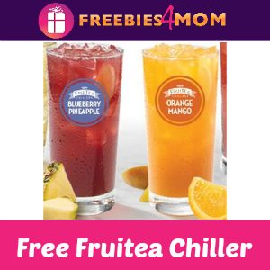Free Fruitea Chiller at Wendy's June 10