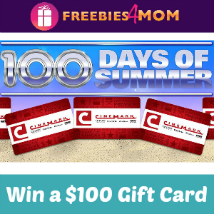 Sweeps Cinemark's 100 Days of Summer