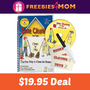 Zone Cleaning for Kids from Educents $19.95
