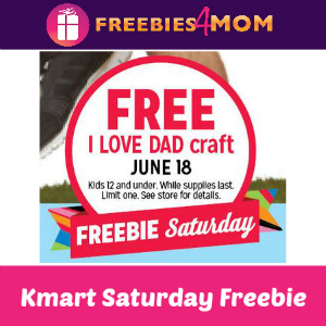 Free I Love Dad Craft at Kmart