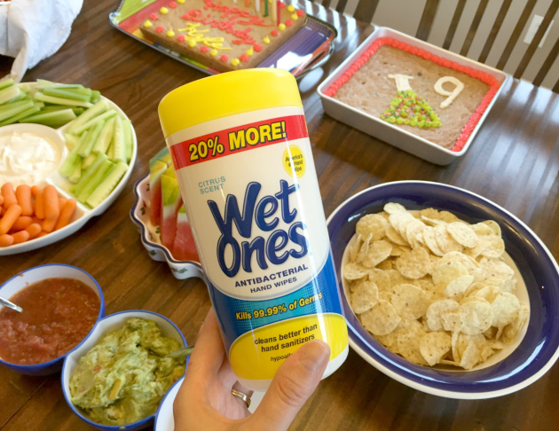 Summer Fun & Clean with Wet Ones® and finger foods