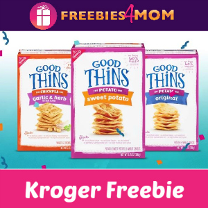 Free Good Thins at Kroger