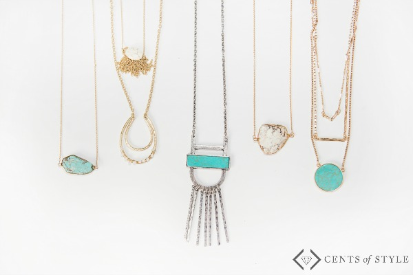 50% off Marble or Turquoise Jewelry