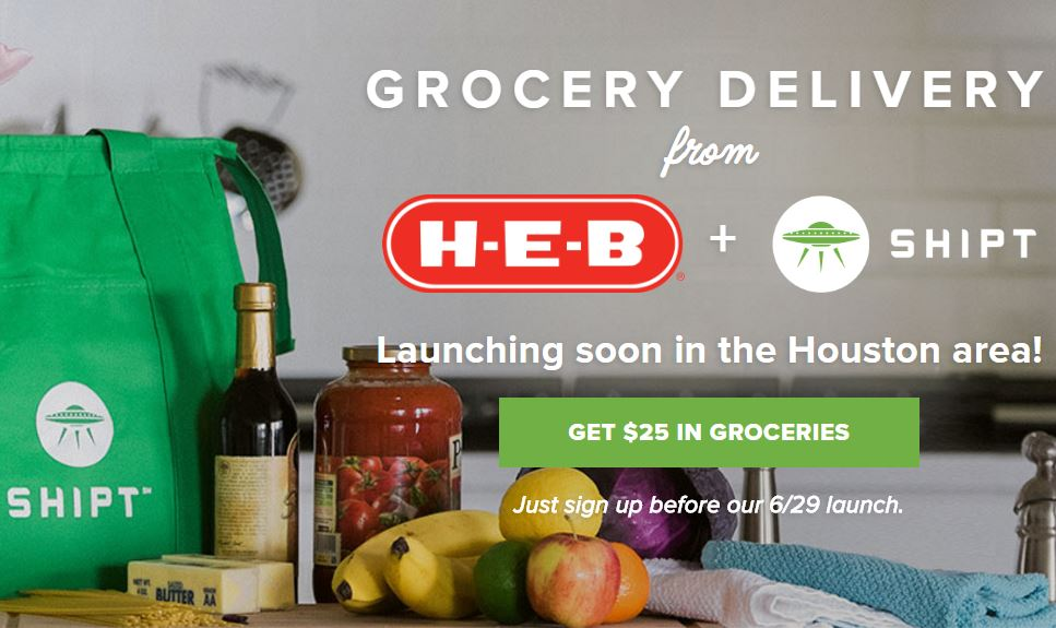 Shipt Grocery Delivery in Houston, Dallas and San Antonio